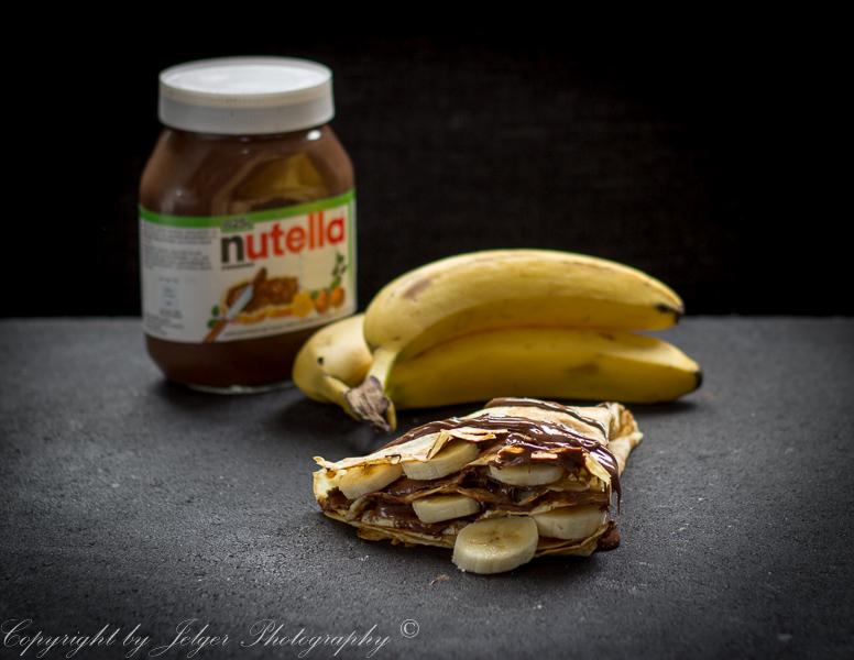 Crêpe nutella banaan
