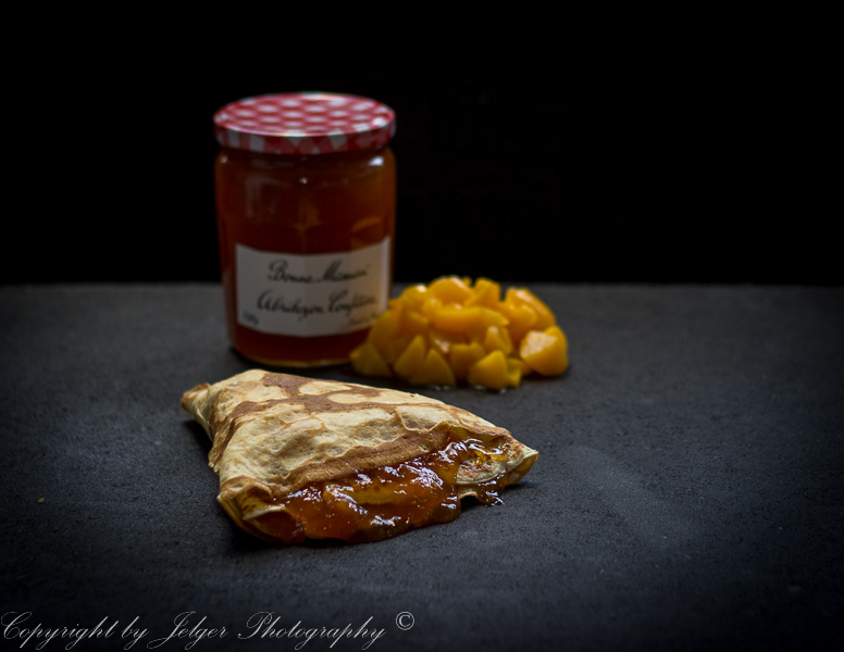 Crêpe abrikozenjam
