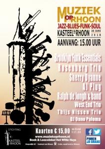 Jazz Festival Kasteel van Rhoon @ Jazz Festival Kasteel van Rhoon | Rhoon | Zuid-Holland | Nederland